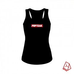 POF!ZAK Sleeveless Tee Black - M (Women)