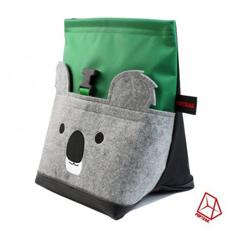 POF!ZAK Koala Boulder Pofzak Groen / Zwart