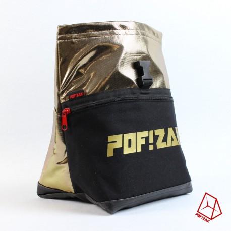 POF!ZAK Bouldering Chalk Bag Gold X31