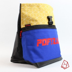 POF!ZAK Bouldering Chalk Bag Geo Yellow X35