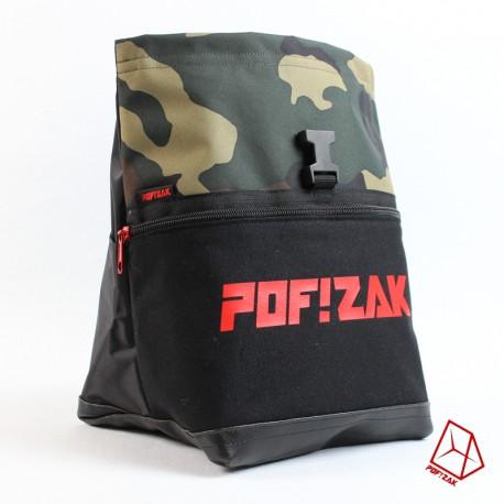 POF!ZAK Bouldering Chalk Bag Geo Camo X37