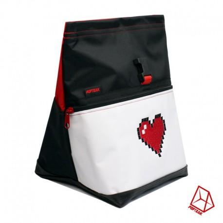 POF!ZAK Bouldering Chalk Bag Pixel Heart