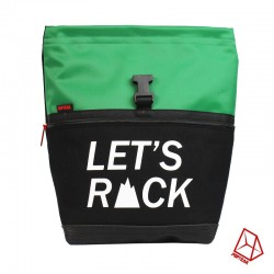 POF!ZAK Bouldering Chalk Bag LET'S ROCK