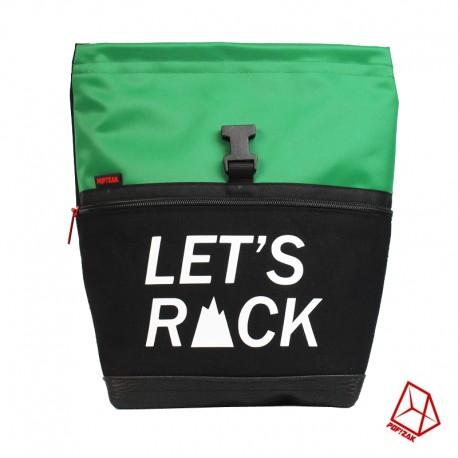 POF!ZAK Bouldering Chalk Bag LET'S ROCK