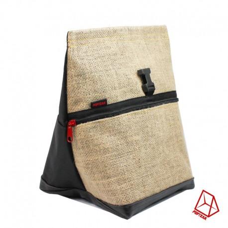 POF!ZAK Bouldering Chalk Bag Jute Black