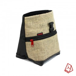 POF!ZAK Mini Boulder Chalk Bag Jute Black