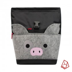 POF!ZAK PIG Bouldering Chalk Bag Black