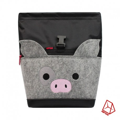 POF!ZAK PIG Bouldering Chalk Bag Black