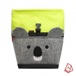 POF!ZAK Koala Bouldering Chalk Bag lime / brown