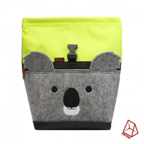 POF!ZAK Koala Bouldering Chalk Bag lime / brown