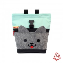 POF!ZAK Mini Boulder Chalk Bag Kitten Mint
