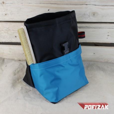 POF!ZAK Bouldering Chalk Bag BLACK&BLUE