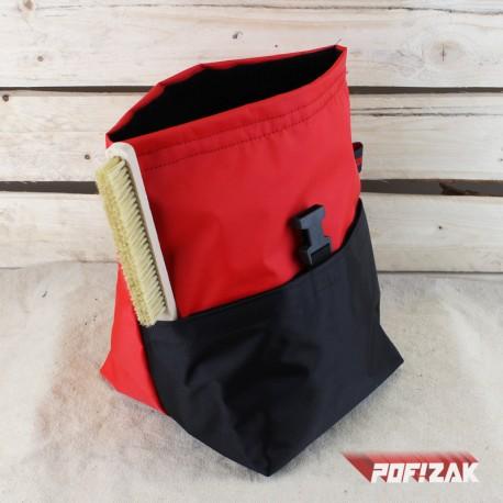 POF!ZAK Bouldering Chalk Bag ORIGINAL RED