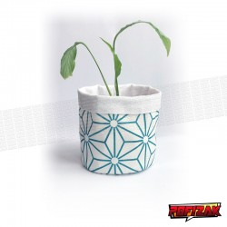 Fabric flower pot | Basket for plant STAR