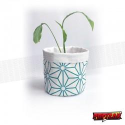 Stoffen bloempot   mand voor plant STAR