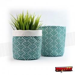 Fabric flower pot | Basket for plant MIDORI