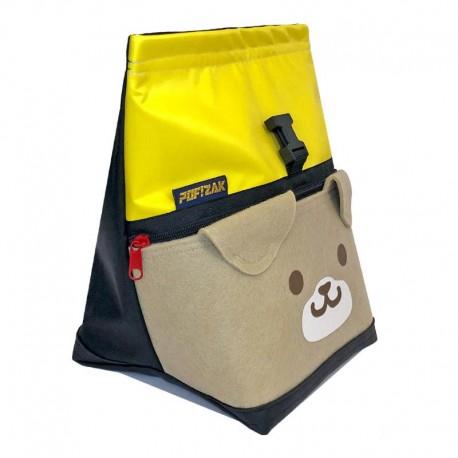 POF!ZAK DOG Bouldering Chalk Bag Yellow / Black