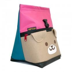 POF!ZAK DOG Bouldering Chalk Bag Pink / Cyan Blue