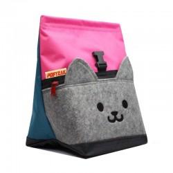 POF!ZAK Cat Bouldering Chalk Bag Pink / Cyan blue