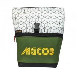 Bouldering Chalk Bag MgCO3 - Mini Geo White