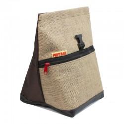 POF!ZAK Bouldering Chalk Bag Jute Brown