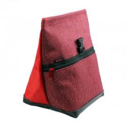 POF!ZAK Bouldering Chalk Bag Glitter Jute Red