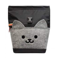 POF!ZAK Cat Bouldering Chalk Bag Black