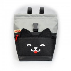 POF!ZAK Boulder   Klim Pofzakje Zwarte Kitten   Grijs