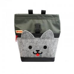 POF!ZAK Mini Boulder Chalk Bag Kitten Olive green