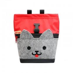 POF!ZAK Mini Boulder Chalk Bag Kitten Red