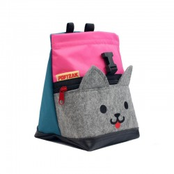 POF!ZAK Mini Boulder Pofzak Kitten Roze Cyaan blauw