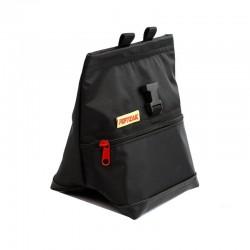 POF!ZAK Mini Boulder Chalk Bag All Black