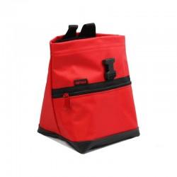 POF!ZAK Mini Boulder Chalk Bag All Red