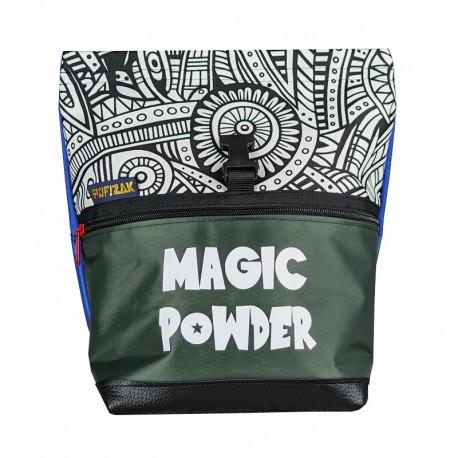 Bouldering Chalk Bag Magic Powder BW