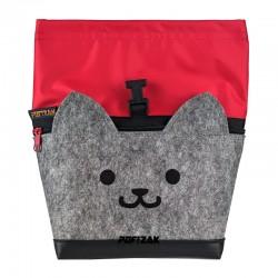 Cat Big Bouldering Chalk Bag Red
