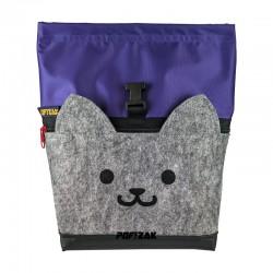 Cat Big Bouldering Chalk Bag Purple