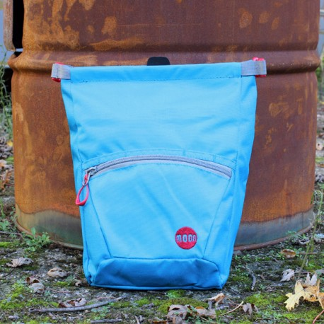 Moon Bouldering Chalk Bag Blue Jewel