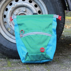 Moon Bouldering Chalk Bag Blue/Green S7