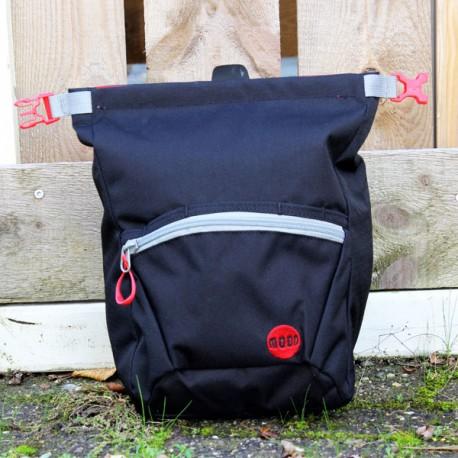 Moon Bouldering Chalk Bag Jet Black