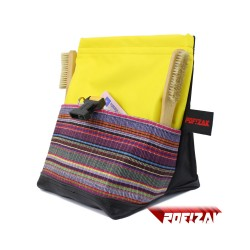 POF!ZAK Junior Boulder Chalk Bag  AMIGO YELLOW / BLACK