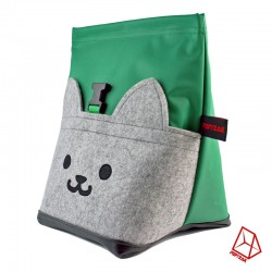 POF!ZAK Bouldering Chalk Bag MEOW GREEN