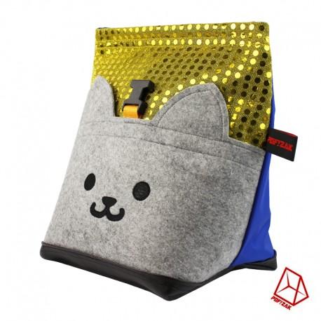 POF!ZAK Bouldering Chalk Bag CAT Gold / Blue