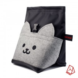 POF!ZAK Bouldering Chalk Bag Cat Black
