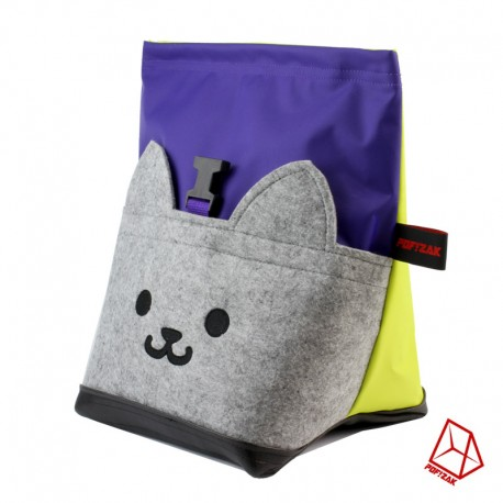 POF!ZAK Bouldering Chalk Bag CAT Camo Grey