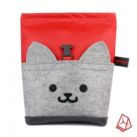 POF!ZAK Bouldering Chalk Bag Cat Black