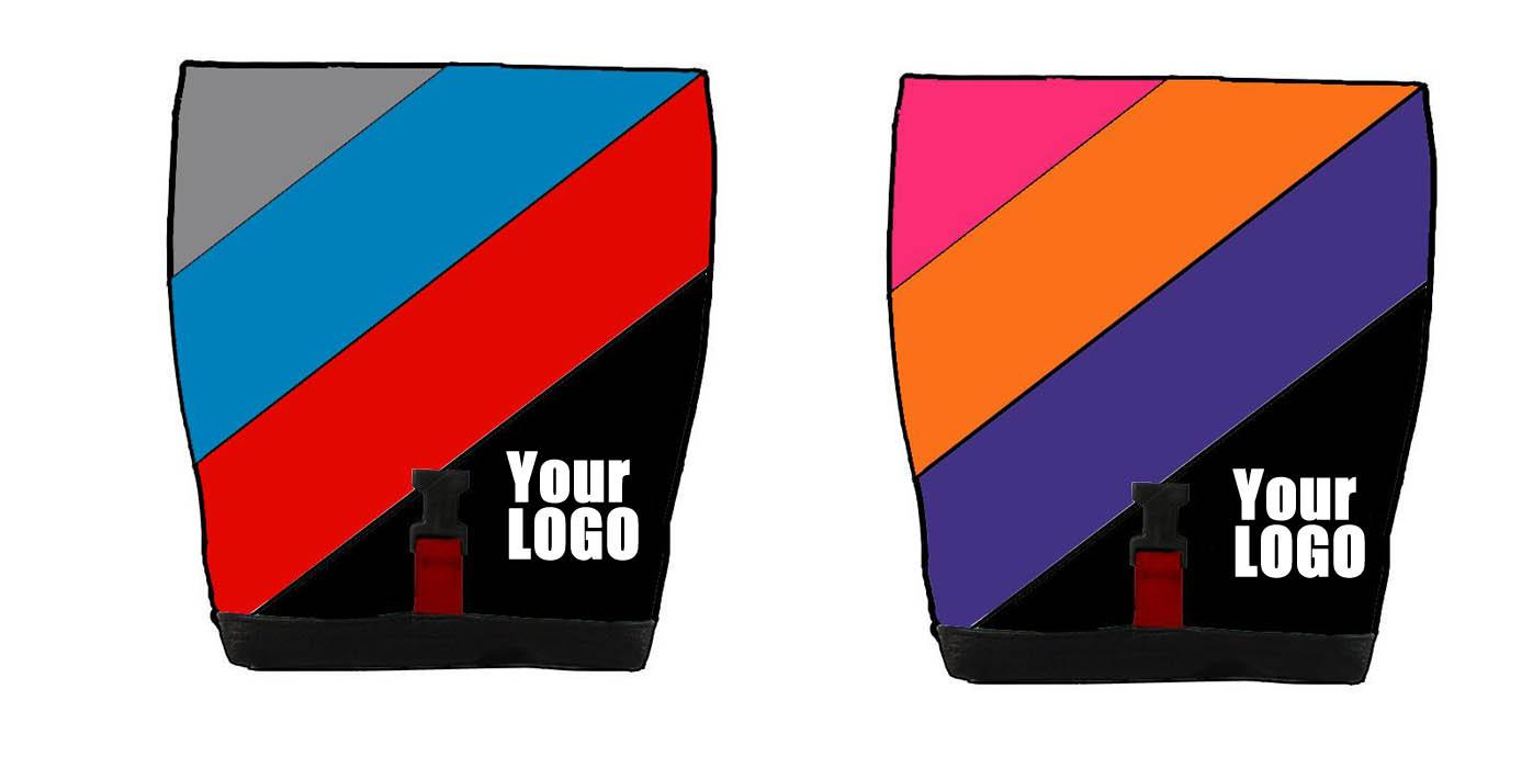 bouldering gym chalk bag custom with logo