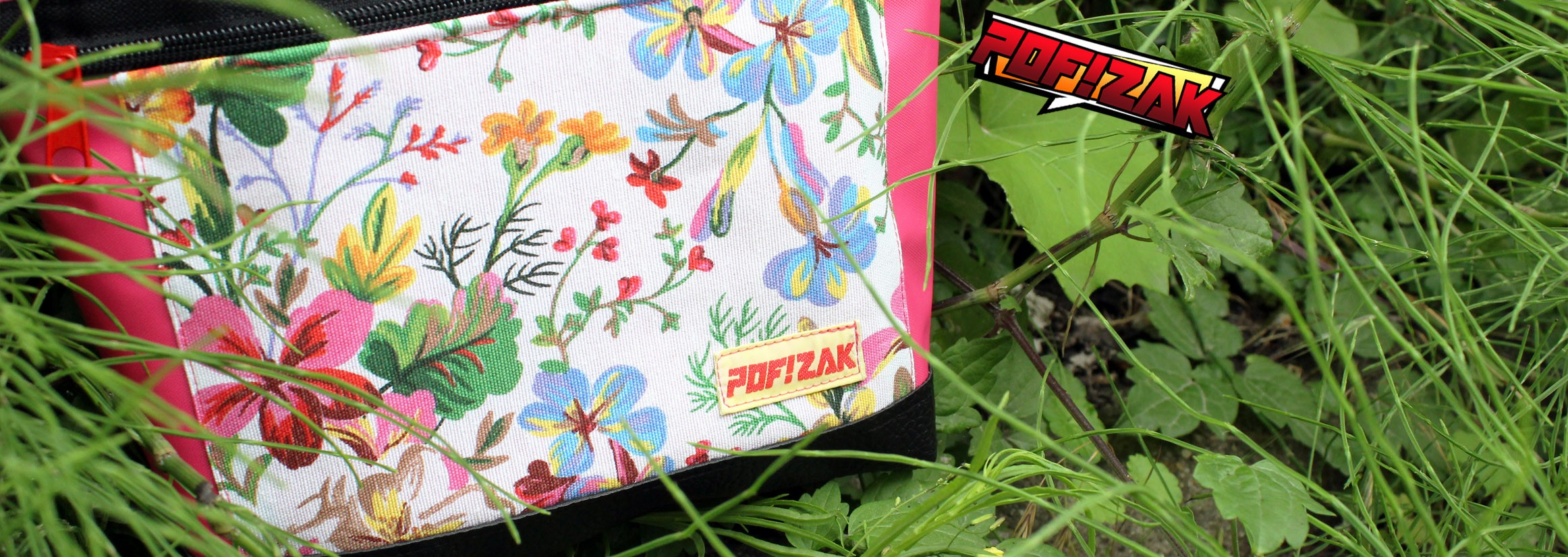 Bouldering Chalk Bag Floral Pink - Inspired by nature